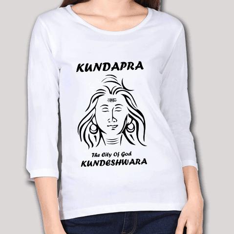 Kundapura The City Of God Kundeshwara - Full Sleeve T-Shirt - Women's W W