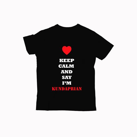 Keep Calm And Say I'm kundaprian - Kids T-ShirtKeep Calm And Say I'm kundaprian - Kids T-Shirt