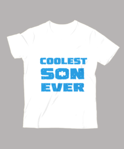 Coolest Son Ever T-Shirt White