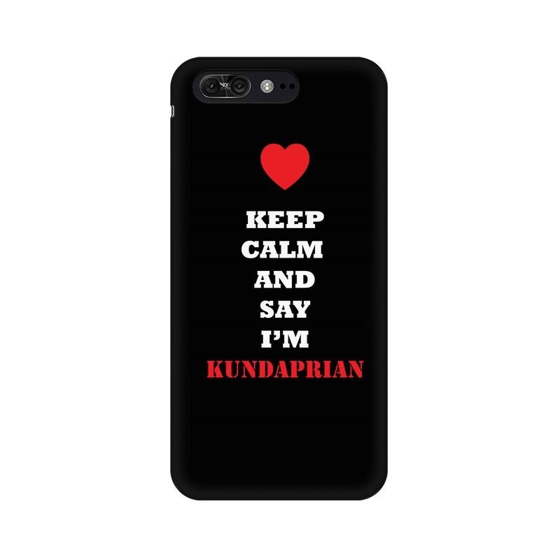 Keep Calm And Say I'm kundaprian Phone Case