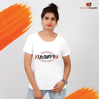 KUNDAPRA Women's T-Shirt – English
