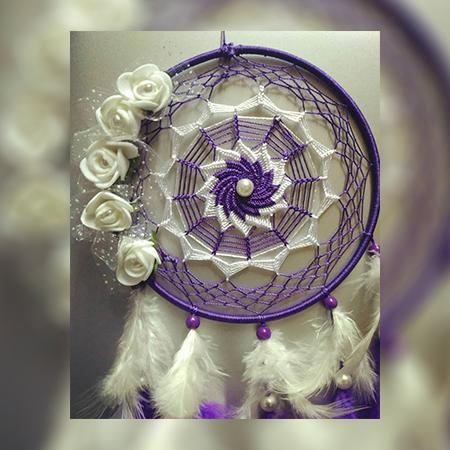 Purple Beauty Dreamcatcher