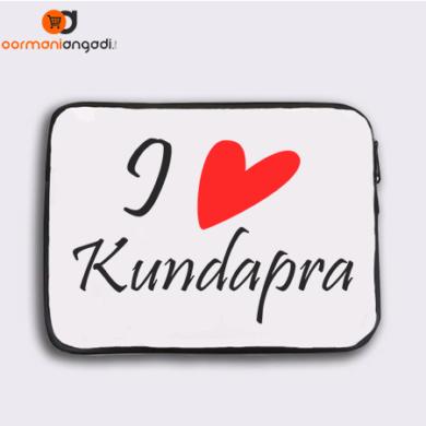 I Love Kundapra Laptop Sleeve