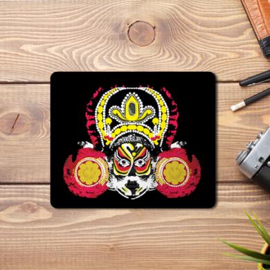 Mahishasura Abstract Mouse Pad