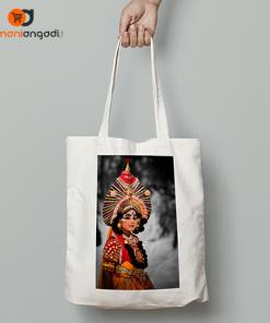 Yakshagana Artist Tote Bag