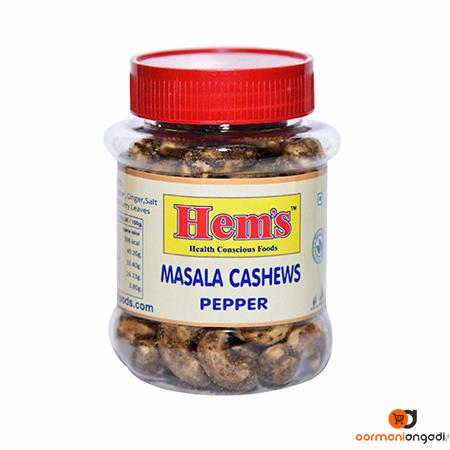Hem's Pepper Flavor Masala Cashew