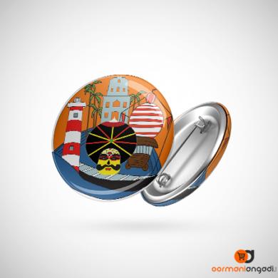 Kundapra Button Badge