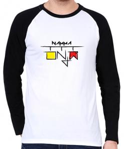Namma Kannada Raglan T-Shirt – Men's