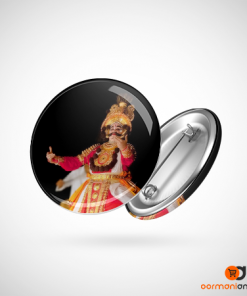 Yakshagana Dance Button Badge