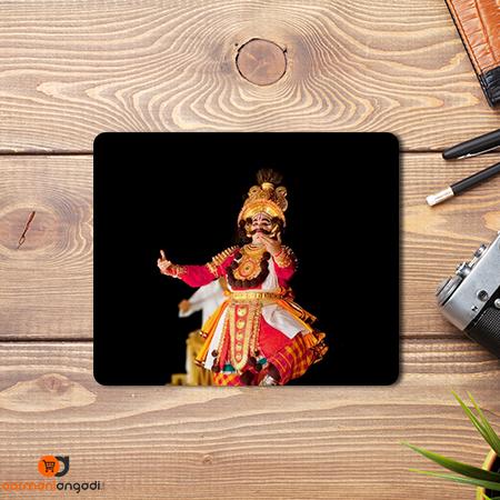 Yakshagana Dance Mouse Pad