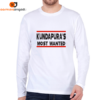 Kundapura's Most Wanted Men's Full Sleeve T-Shirt