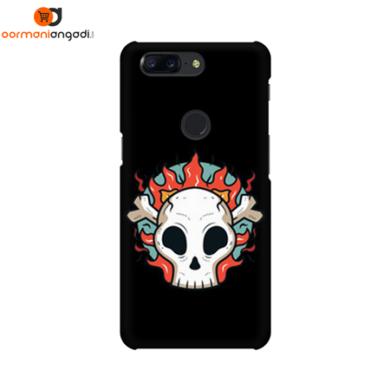 Flaming Skull Phone Case