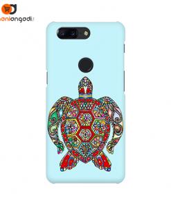 Floral Sea Turtle Phone Case