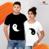 Yin And Yang Couple Sign T-Shirt