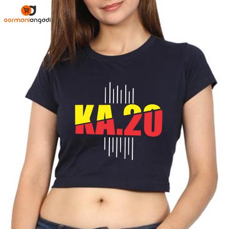 KA 20 Crop Tops - English