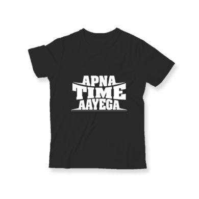 Apna Time Aayega Kids T-Shirt