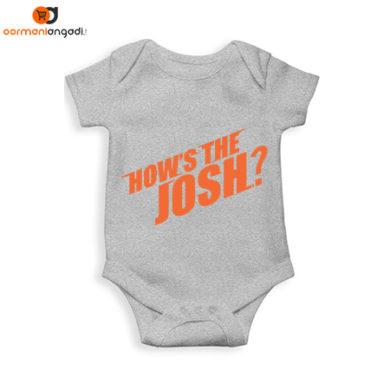 How's The Josh Kids Rompers
