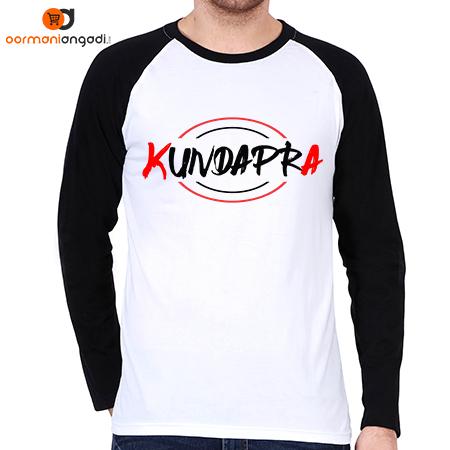 KUNDAPRA Men's Raglan T-Shirt - English