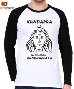 Kundapra The City Of God Kundeshwara Raglan T-Shirt - Men's