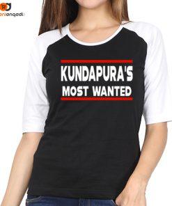 Kundapura's Most Wanted Raglan T-Shirt – Women's