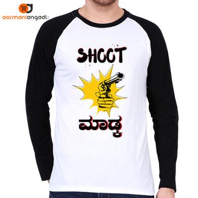 Shoot Madkaa Part-1 Men's Raglan T-Shirt
